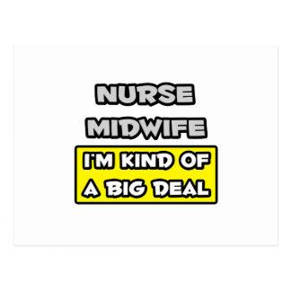 Nurse Midwife .. I'm Kind of a Big Deal Postcard