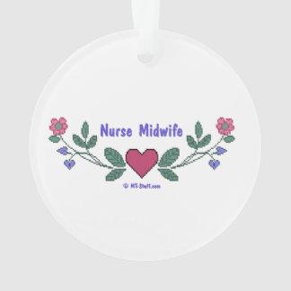 Nurse Midwife Ornament