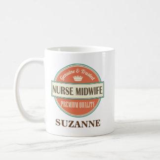 Nurse Midwife Personalized Office Mug Gift