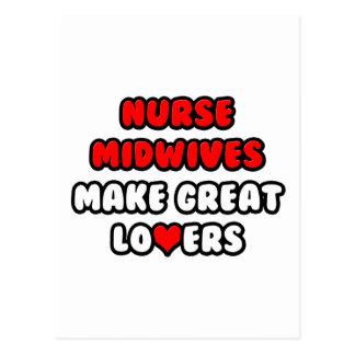 Nurse Midwives Make Great Lovers Postcard