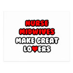 Nurse Midwives Make Great Lovers Postcards