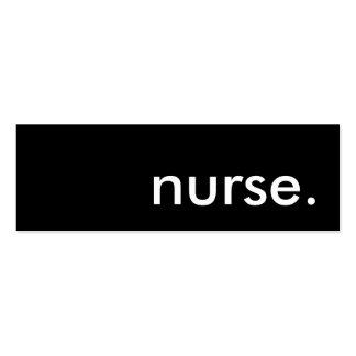 nurse.. mini business card