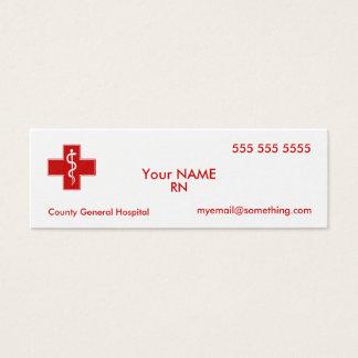 Nurse Mini Business Card
