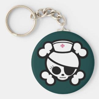 Nurse Molly Basic Round Button Keychain