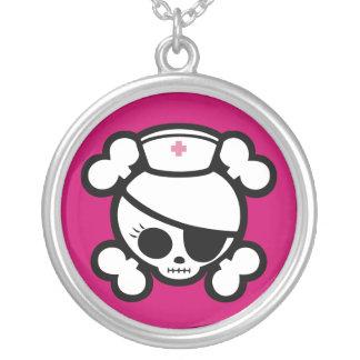 Nurse Molly Round Pendant Necklace