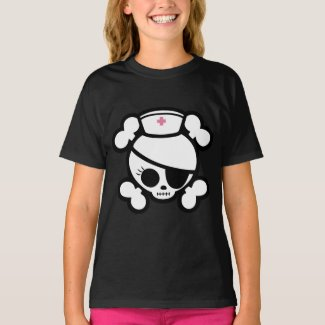 Nurse Molly Skull Tees