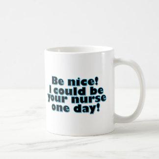 Nurse Classic White Coffee Mug