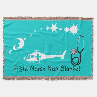 Nurse Nap Blanket Blue Throw Blanket