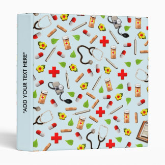 nurse novelty gifts 3 ring binder