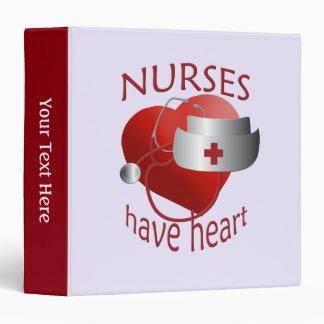 Nurse Nurses Have Heart Binder