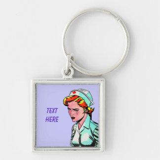Nurse Nursing Nurses - Vintage Illustration Key Chains