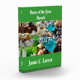 Nurse of the Year Award Plaques Add Year Name