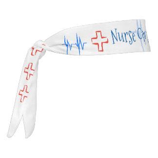 Nurse On A Mission Tie Headband