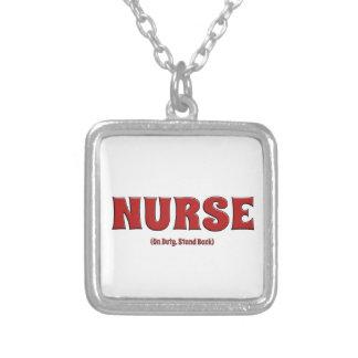 Nurse On Duty Stand Back Pendants