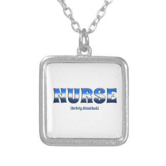 Nurse On Duty Stand Back Pendant