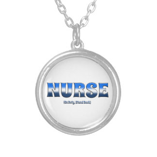 Nurse On Duty Stand Back Necklaces