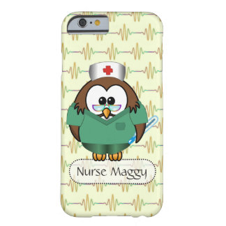 nurse Owl Barely There iPhone 6 Case