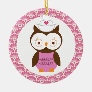 Nurse Owl Gift Ornament