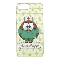 nurse Owl iPhone 7 Case