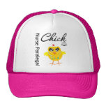 Nurse Paralegal Chick v1 Hat