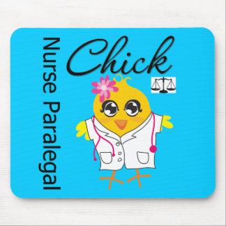 Nurse Paralegal Chick v2 Mouse Pad