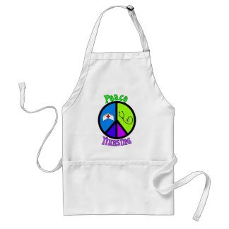 "Nurse ""Peace"" Gifts For All Professionals Adult Apron"