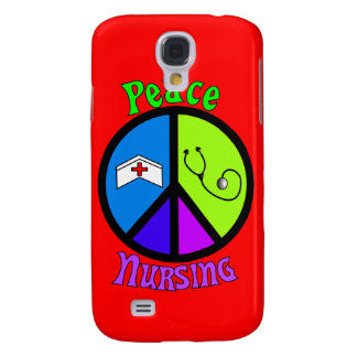 """Nurse """"Peace"""" Gifts For All Professionals Samsung Galaxy S4 Cover"""