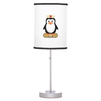 Nurse Penguin Desk Lamp