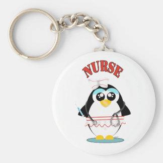 Nurse Penguin Female Keychains