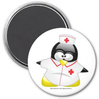 Nurse Penguin Magnet