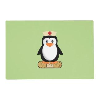 Nurse Penguin Placemat