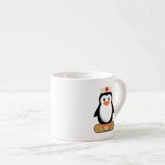 Nurse Penguin (w/bandaid) Espresso Cup