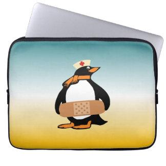 Nurse Penguin (w/bandaid) Computer Sleeve