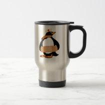 Nurse Penguin (w/bandaid) Travel Mug