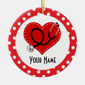 Nurse Personalized Christmas Gift Ornament