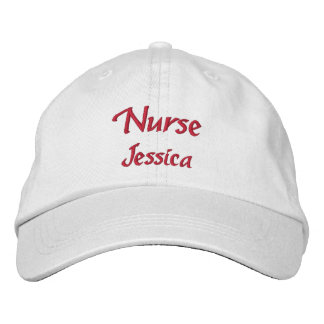 Nurse Personalized Embroidered Baseball Cap