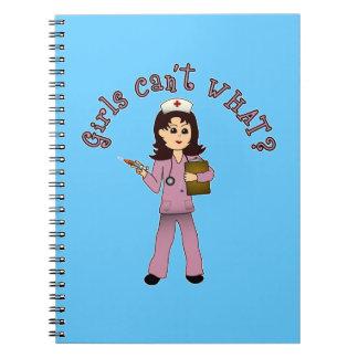 nurse-pink-light.png spiral notebook