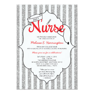 Nursing Graduation Invitations Announcements Zazzle