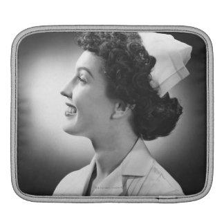 Nurse Posing iPad Sleeve