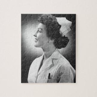 Nurse Posing Jigsaw Puzzle