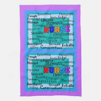 Nurse Positive Words Kitchen Towel