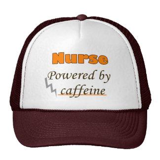 Nurse Powered by caffeine Trucker Hat