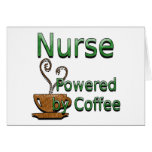 Nurse Powered by Coffee Cards