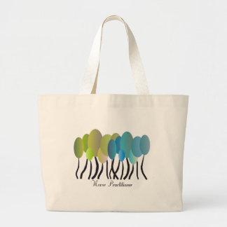 Nurse Practitioner Artsy Trees Design Gifts Bag