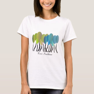 Nurse Practitioner Artsy Trees Design Gifts T-Shirt