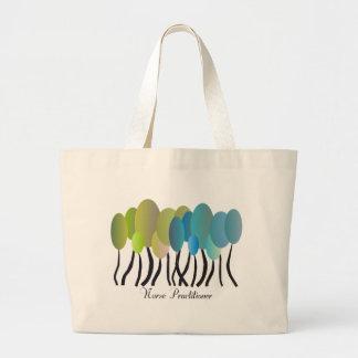Nurse Practitioner Artsy Trees Tote Bag