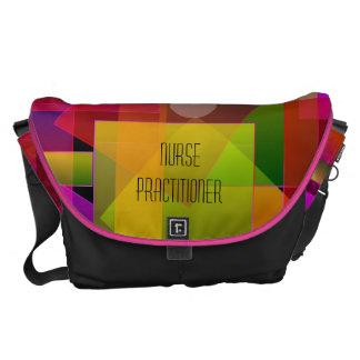 Nurse Practitioner Bag Artsy Mosaic Translucent