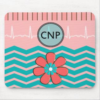 Nurse Practitioner Chevron Design Mouse Pad