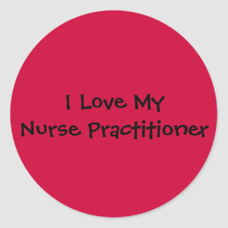 Nurse Practitioner Classic Round Sticker