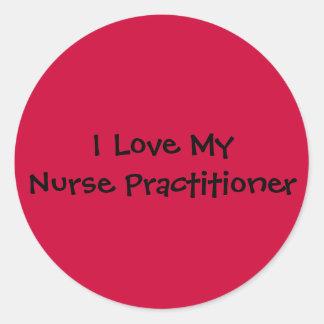 Nurse Practitioner Classic Round Sticker